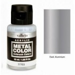 Vallejo Metal Color 77703 Dark Aluminium